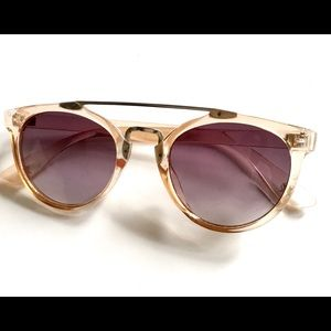 Free People Pale Rose Pink Sunglasses Sunnies